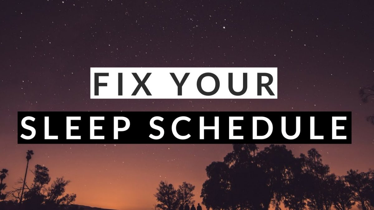 How to Fix Sleep Schedule